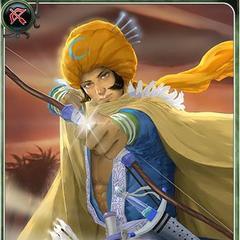 Artwork of Dandan in Imperial SaGa.