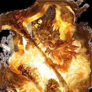 Aunus as he appears in Romancing SaGa Re;univerSe