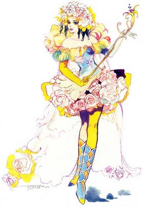 Princess White Rose