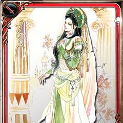 Artwork of Sophia in Imperial SaGa.