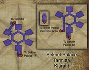 Sekhet Palace map