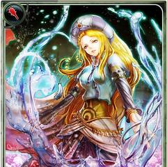 Artwork of Agatha in Imperial SaGa.