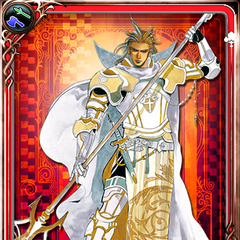 Wallenstein card from Imperial SaGa