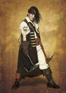 Black Yoshinobu Hirayama(Romancing SaGa The Stage)