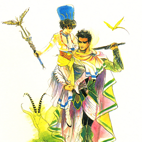 Official art of Georg with Toma.