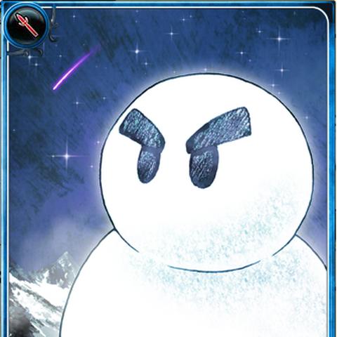 Artwork of Snowman in Imperial SaGa.