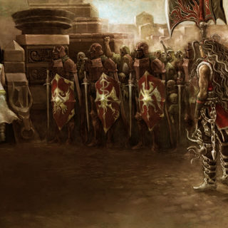 Artwork of Balmant's scenario.