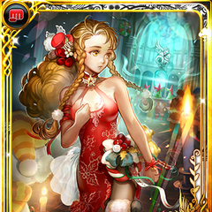 Festive Sarah card from Imperial SaGa