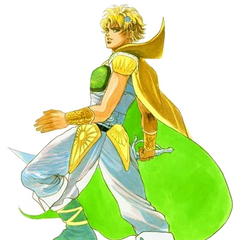 Official artwork of Albert in <i>Romancing SaGa</i>.