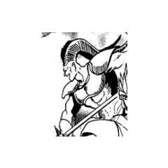 Dantarg as depicted in the Romancing SaGa 2 manga
