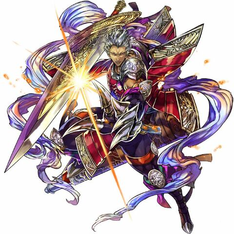 Noel's character art from Final Fantasy Legends