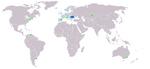 Map Roumanophone World