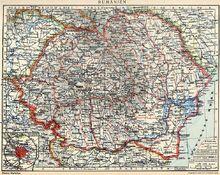 Romania Mare (judete si regiuni istorice)