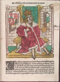 Matei Corvin Johannes de Thurocz f137