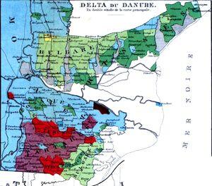Dobrogea-Bugeac harta etnica (1861)