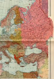 Harta politica a estului Europei 1938 vazuta din perspectiva sovietica