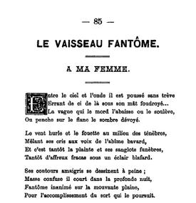 Le Vaisseau fantôme Macedonski L'Élan littéraire