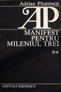 Adrianpaunescu manifestptmileniul3 2