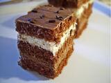 Cake with Walnuts and Chocolate