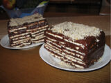 Biscuit Layered Cake