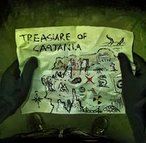 Captania Treasure Map