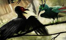 Biomatrix and Lifealope as birds
