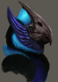 Alien bird 02 by ballisticcow-d4mhivy