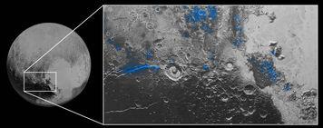 Water on Pluto