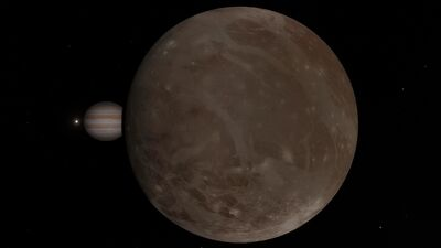 Ganymede SpaceEngine