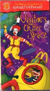 Wacky Adventures of Ronald McDonald Visitors From Outer Space