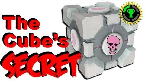 Game Theory Portal's Companion Cube has a Dark Secret