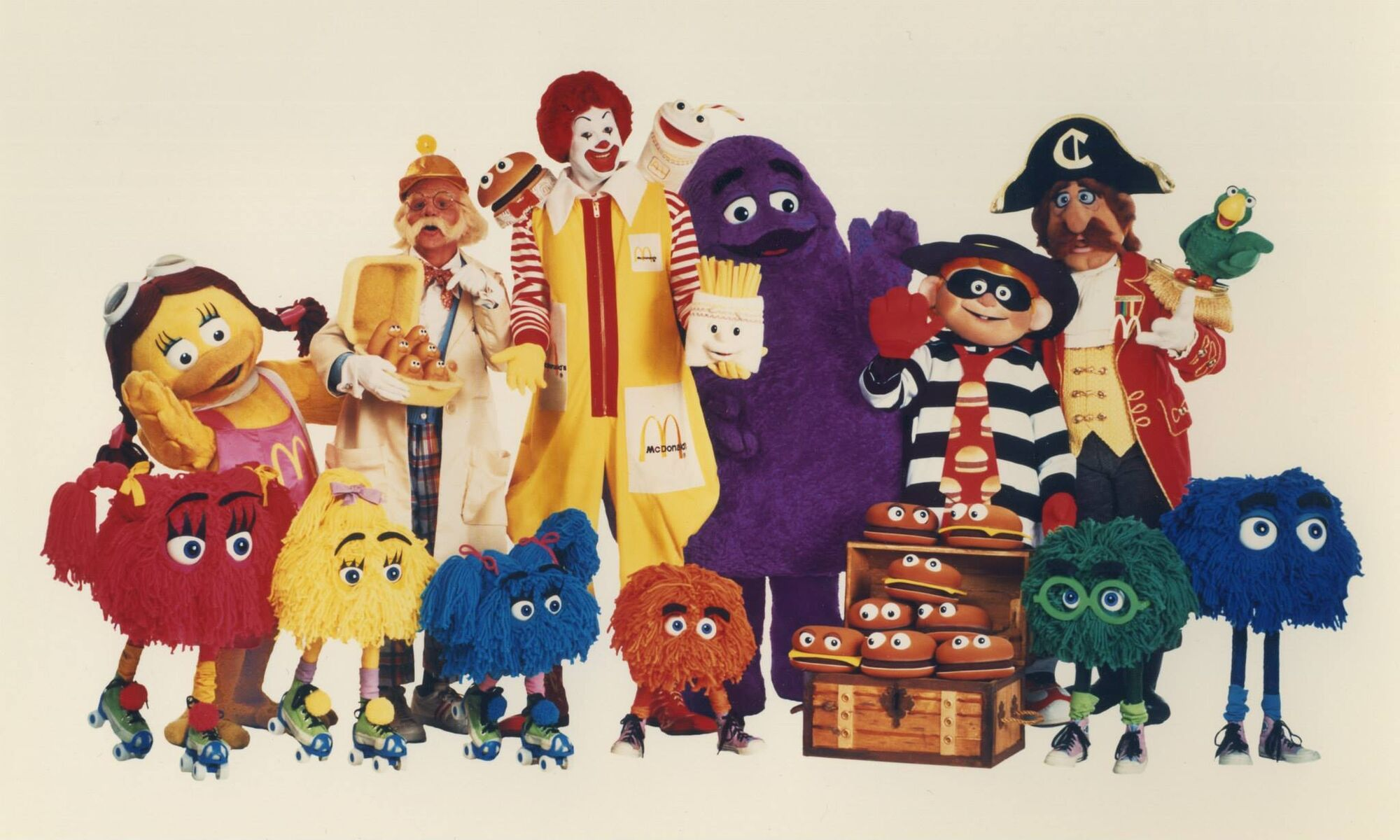 Image result for McDonaldland cast, giant