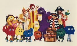 McDonaldland 1986