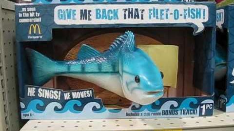 Singing Filet-O-Fish Fish-0