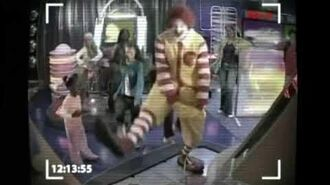 Mcdonalds Dance Arcade Machine Security Camera Commercial