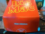 Big Mac box Netherlands April 2017