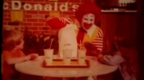 McDonalds McDonaldland Ronald McDonald That Famout Pirate