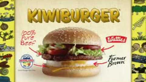 McDonalds Kiwiburger Advert - Original