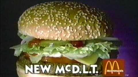 1985 McDonald's New McDLT Commercial