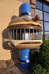 Officer Big Mac Climb in jail
