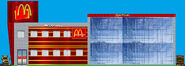 Future McDonald's restaurant with 2 stories