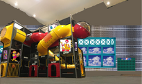 Inside of PlayPlace of Nassau Park Pavilion McDonald's