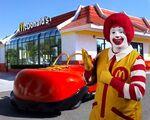 Ronald McDonald Car