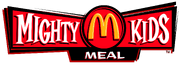 McDonald's Mighty Kids Meal