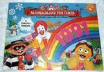 McDonaldland Fun Times Calendar