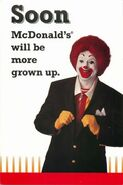 Ronald McDonald Suit