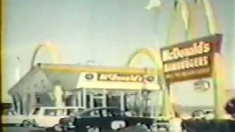 """1967 McDonald' s Commercial """"Filet-O-Fish""""-1"""
