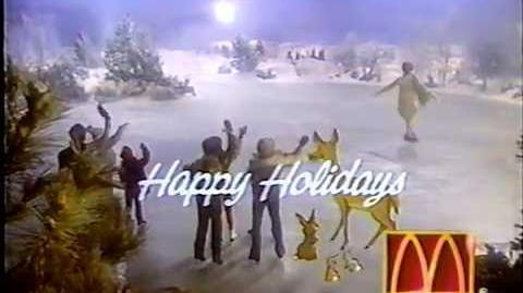 McDonald's 'Happy Holidays' + Family Theater promo (1991)