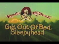 Get out of Bed Sleepyhead commercial