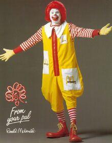 Ronald McDonald Autograph